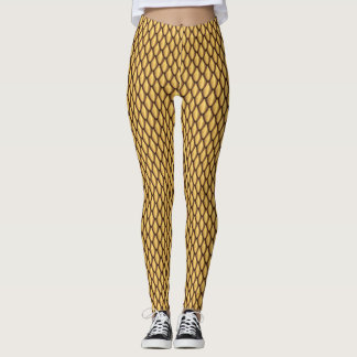 Bronze Dragon Scale Leggings