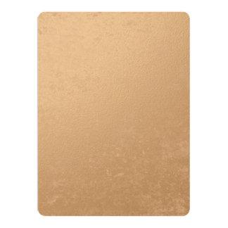 Bronze Foil Printed 17 Cm X 22 Cm Invitation Card