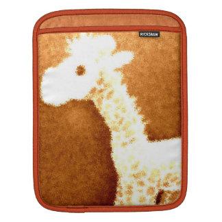 Bronze Giraffe iPad Sleeves