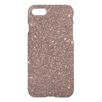 Bronze Glitter Sparkles iPhone 7 Case