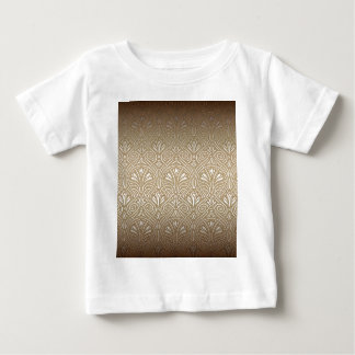 Bronze, gold,Art nouveau, art deco, vintage, Baby T-Shirt
