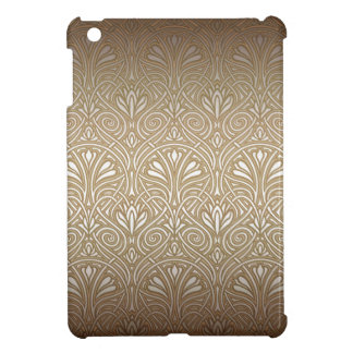 Bronze, gold,Art nouveau, art deco, vintage, iPad Mini Cover