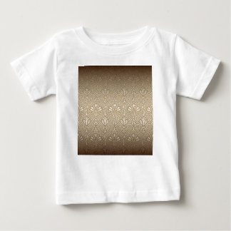 Bronze, gold,Art nouveau, art deco, vintage, patte Baby T-Shirt