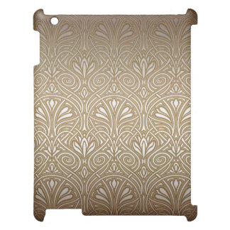 Bronze, gold,Art nouveau, art deco, vintage, patte Case For The iPad