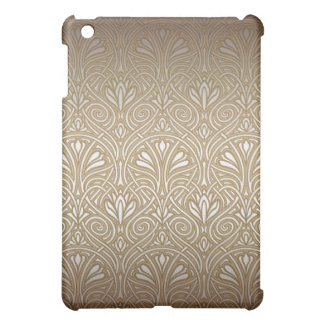 Bronze, gold,Art nouveau, art deco, vintage, patte Case For The iPad Mini