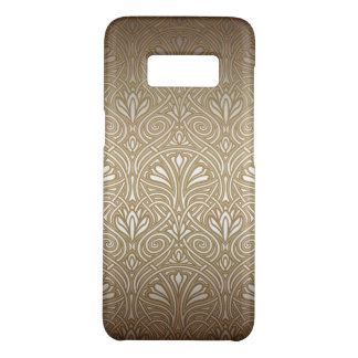 Bronze, gold,Art nouveau, art deco, vintage, patte Case-Mate Samsung Galaxy S8 Case