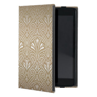 Bronze, gold,Art nouveau, art deco, vintage, patte Cases For iPad Mini