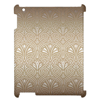 Bronze, gold,Art nouveau, art deco, vintage, patte Cover For The iPad 2 3 4