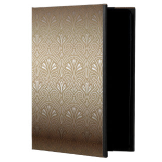 Bronze, gold,Art nouveau, art deco, vintage, patte iPad Air Covers