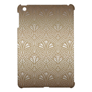 Bronze, gold,Art nouveau, art deco, vintage, patte iPad Mini Case