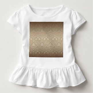 Bronze, gold,Art nouveau, art deco, vintage, patte Toddler T-Shirt