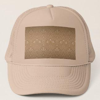 Bronze, gold,Art nouveau, art deco, vintage, Trucker Hat