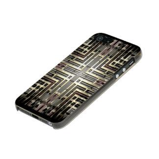 Bronze Grid iPhone SE/5/5S Incipio Shine Case