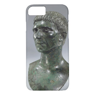 Bronze head of a man, Roman, beginning of 1st cent iPhone 7 Case