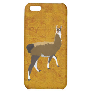 Bronze Llama Case iPhone 5C Cases