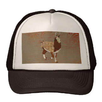 Bronze Llama Lid Mesh Hat