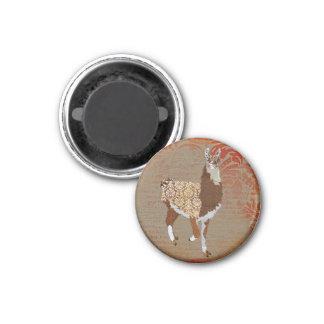 Bronze Llama Magnet