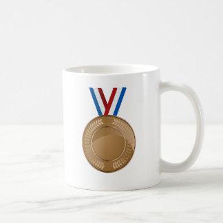 Bronze Medal Icon Coffee Mug