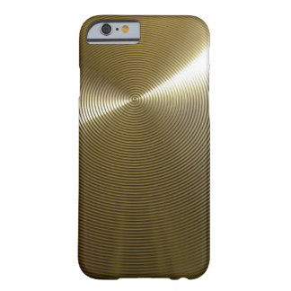 Bronze Metal Look Barely There iPhone 6 Case