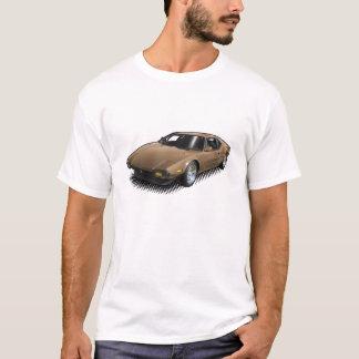 Bronze Pantera on White T-Shirt