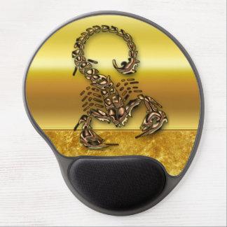 Bronze Poisonous scorpion very venomous insect Gel Mouse Pad