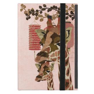 Bronze Rosa Giraffes Pink iPad Case