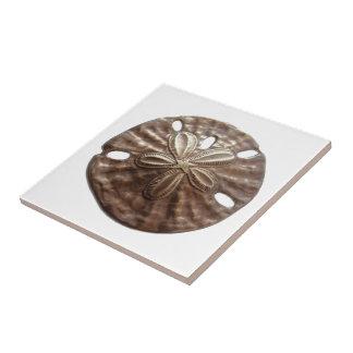 Bronze Sand Dollar Ceramic Tile
