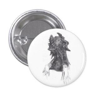 Bronze Sculpture Sketch Mini Button