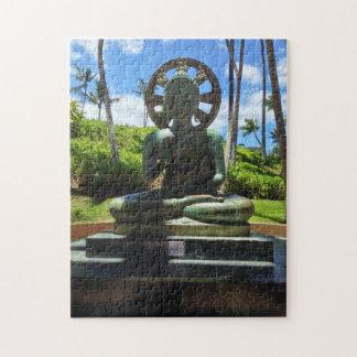 Bronze Seated Buddha, Waikoloa, Hawaii Jigsaw Puzzle
