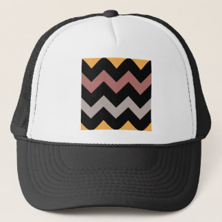 Bronze Silver and Gold on Black Cap