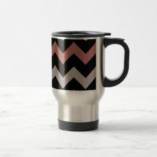 Bronze Silvered Gold Travel Mug
