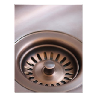 Bronze sink drain 21.5 cm x 28 cm flyer