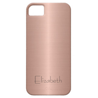 Bronze Stainless Steel Metal iPhone 5 Case