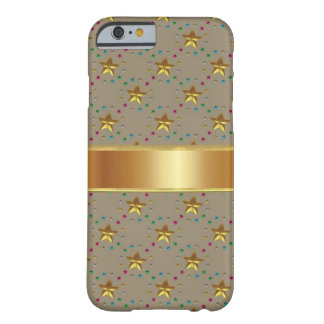 Bronze Star with Gold iPhone 6 Case