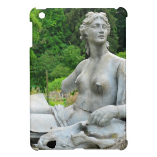 Bronze statue depicting woman iPad mini covers
