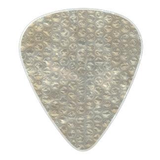 Bronze Stud Studded Bubble Wrap Pearl Celluloid Guitar Pick