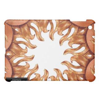 Bronze Sun Kaleidoscope iPad Cover