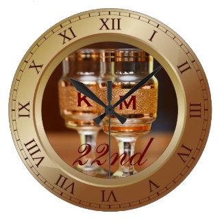 Bronze Clocks Bronze Wall Clock Designs Zazzle