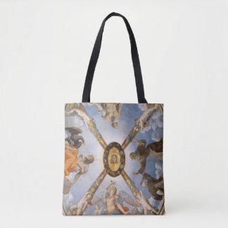 Bronzino Chapel Fresco Archangels and Saints Tote Bag