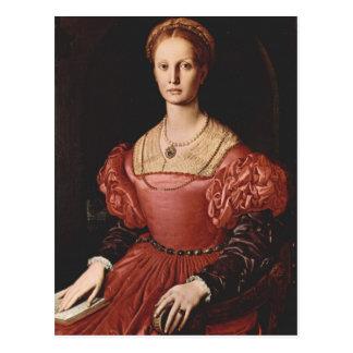 Bronzino - Lucrezia Panciatichi - 1540 Postcards