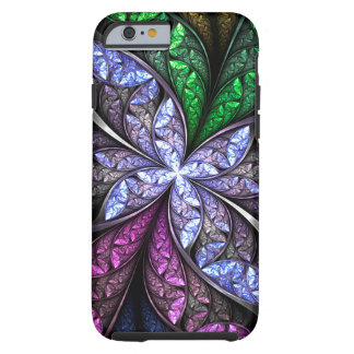 Brooch Frost Floral Glass 1 Tough iPhone 6 Case