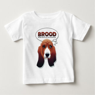 BROOD basset baby t-shirt