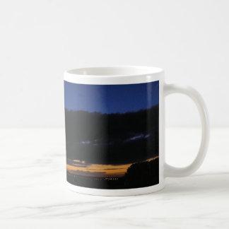 Brooding Sunset Basic White Mug