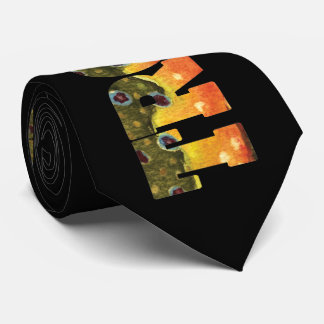Brook Trout Angler's Tie