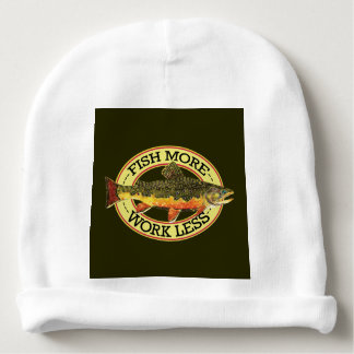 Brook Trout Angling Baby Beanie