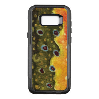 Brook Trout Fisherman, Ichthyologist OtterBox Commuter Samsung Galaxy S8+ Case