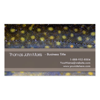 Brook Trout Fly Fishing Business Card