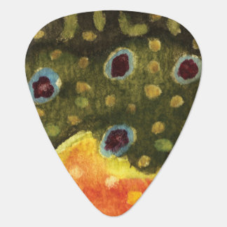 Brook Trout Fly Fishing Plectrum