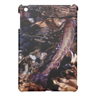 Brook Trout in River Water Cover For The iPad Mini