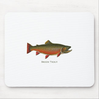 Brook Trout Male (Spawning Phase) Mouse Pad